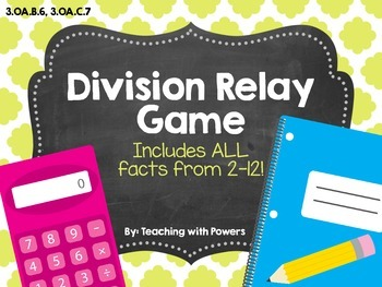 Division Relay Game