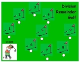 Division Remainder Golf - A Game to Practice Dividing by a 1-Digit Divisor