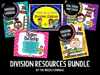Division Resources Bundle
