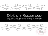 Division Resources: Equal Groups and Long Division