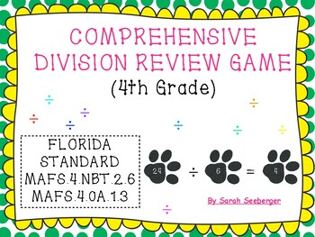 Division Review Game