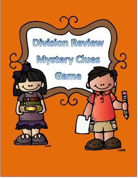 Division Review Game Mystery Clues