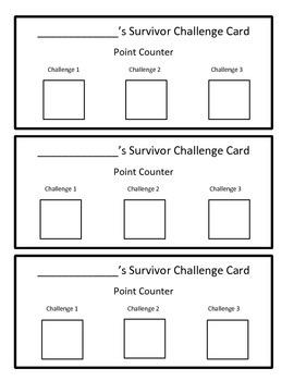 Division Review Game Survivor Theme (Long Division)