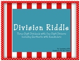 Division Riddle Freebie