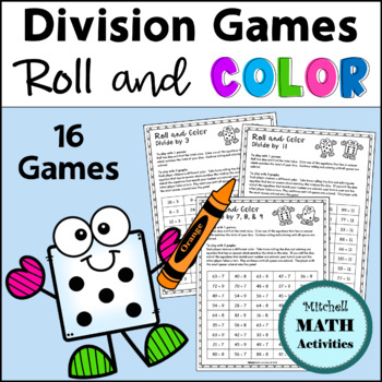 Division Roll and Color Games