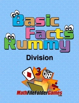 Division Rummy - Basic Division Facts Math Game