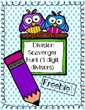 Division Scavenger Hunt Freebie