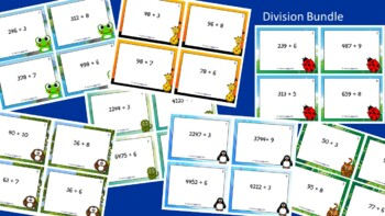 Division Scoot Activity/Task Card Bundle
