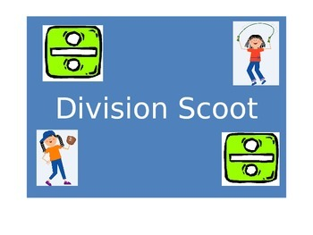 Division Scoot Cards