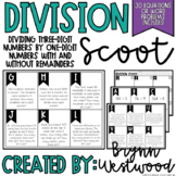 Division Scoot Three Digit Numbers Divided by Single Digit