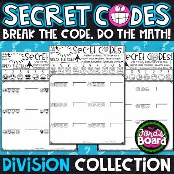 Division Secret Code Activities