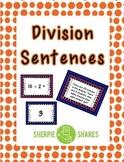 Division Sentences
