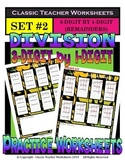 Division 3-Digit by 1-Digit (Set #2) - Remainders - Grades 5-6 (5th-6th Grade)