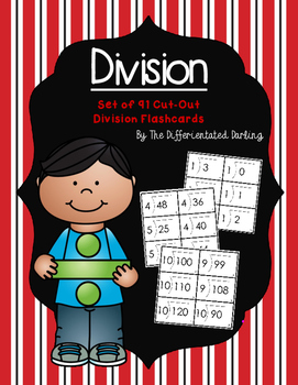 Division Set of 91 Flashcards