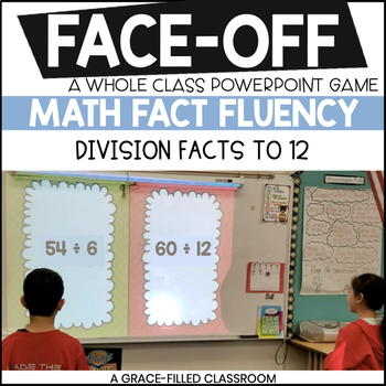 Division Facts Quotients to 12 (Winter Edition)