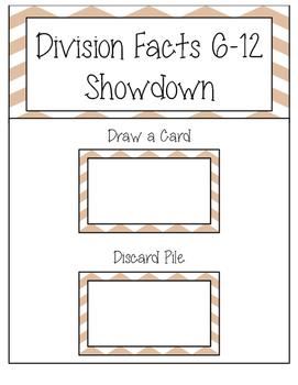 Division Showdown 6-12