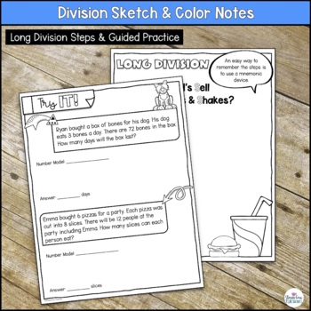 Division Sketch Notes
