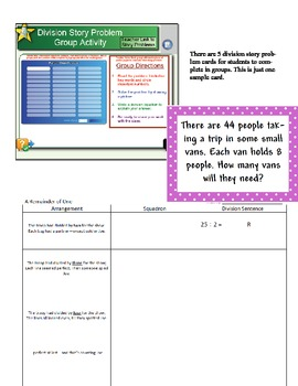Division Smart Board Activity A Remainder of One Book CCSS 4.NBT.6