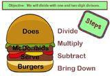 Division Smart Board Lesson