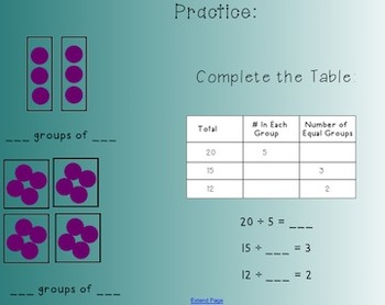 Division Smart Notebook Lesson