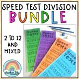 Division Speed Test Booklet BUNDLE ( Mental Maths Dividing