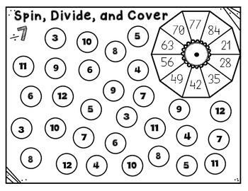 Division Spin, Divide, Cover