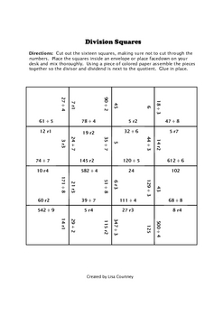 Division Squares