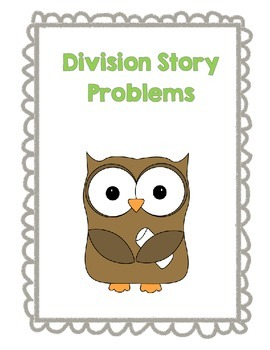 Division Story Problems