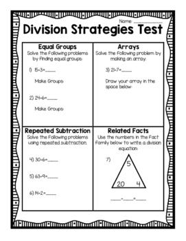Division Strategies Assessment
