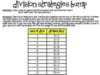 Division Strategies Bump