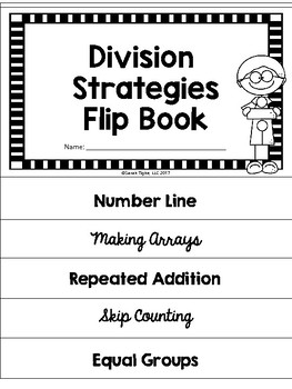 Division Strategies Flip Book