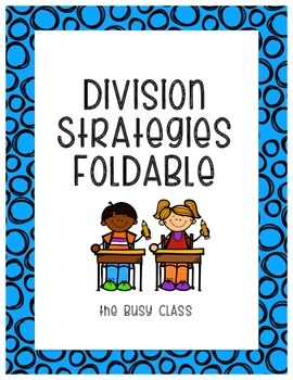 Division Strategies Foldable