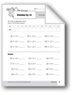 Division Strategies, Grade 3: Division by 12