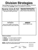 Division Strategies Handout