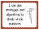 Division Strategies Interactive Notebook Activity & Quick Check TEKS 4.4F