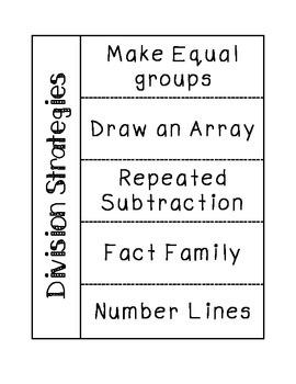 Division Strategies Notes