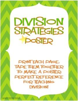 Division Strategies Poster