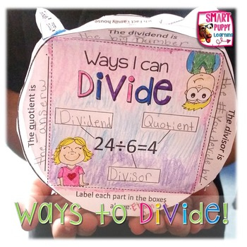 Division Strategies Practice- Mini Knowledge Box