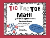 Division Strategies Tic Tac Toe Partner Game