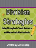 Division Strategies: Using Strategies to Teach Basic Division Facts
