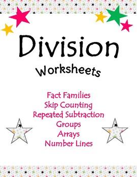 Division Strategies & Worksheets