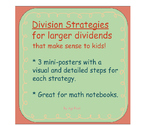 Conceptual Division Strategies Charts for Larger Dividends