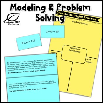 Division Strategies Lesson Activities