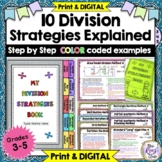 Division Strategies Posters, Slideshow & Reference Booklet