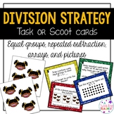 Division Strategy Scoot Task Cards!