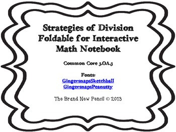 Division Strategy for Interactive Notebook