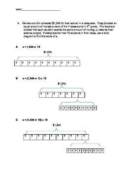 Division Strip Diagrams