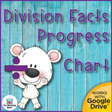 Division Basic Facts Progress Chart and Assessments Distan