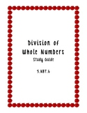 Division Study Guide 5.NBT.6