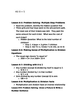 Division Study Guide Part 2